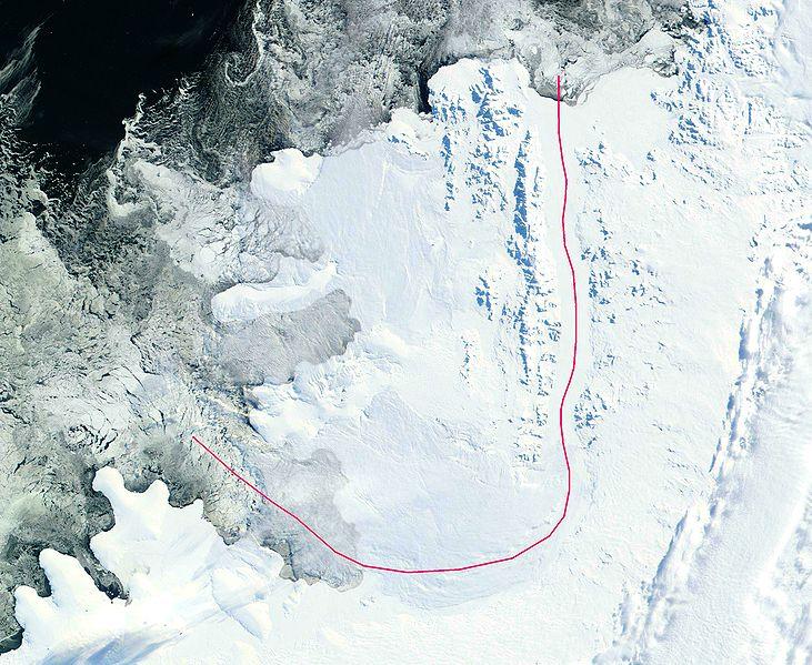 Спутниковый снимок Земли Александра Первого