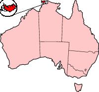 Остров Мелвилл на карте мира