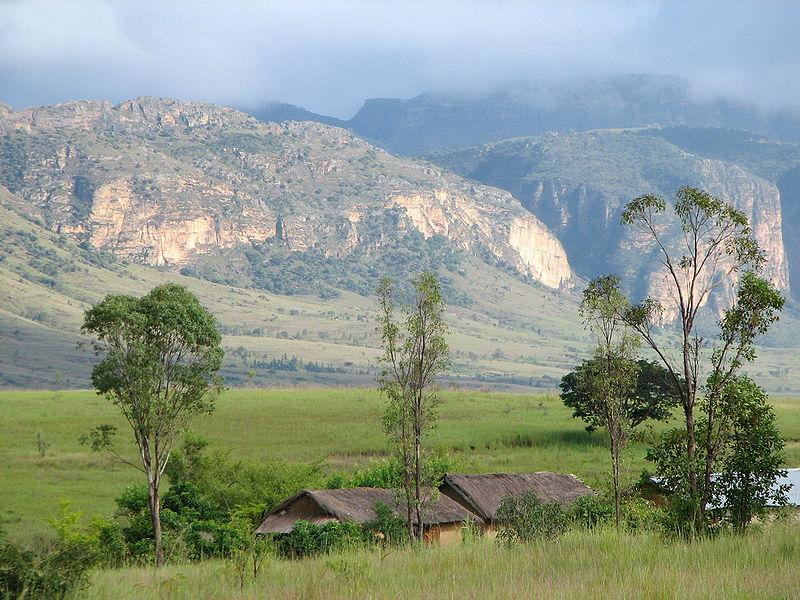 Национальный парк Изало на острове Мадагаскар