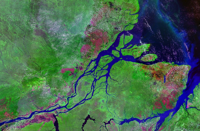 Снимок со спутника острова Маражо