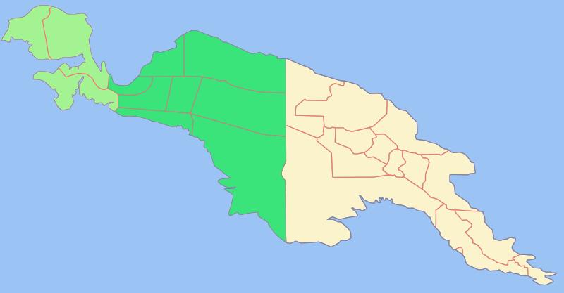 Политическое деление Новой Гвинеи