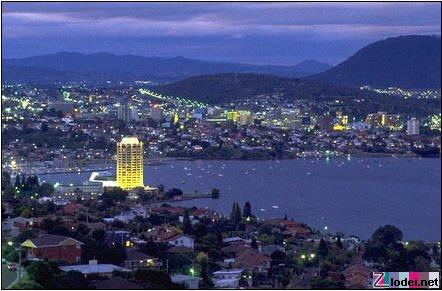 Хобарт - столица, Тасмании