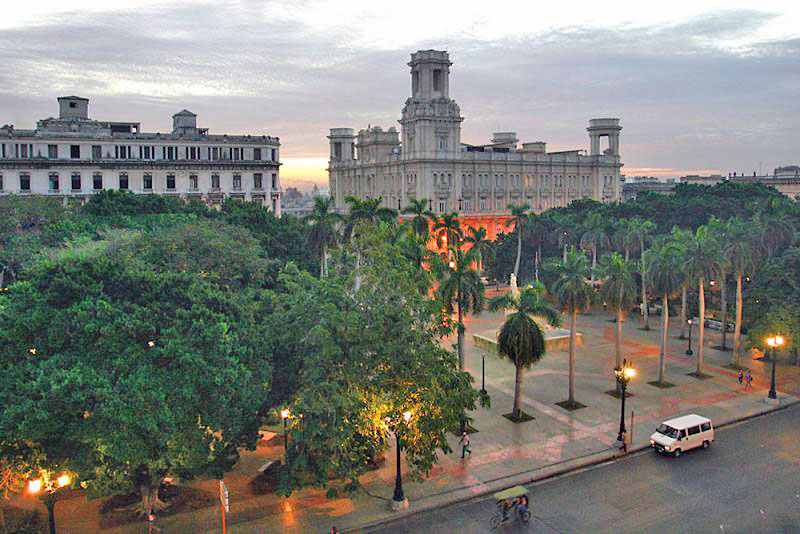 Город на острове Куба