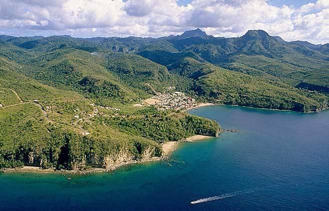 Вид на остров Гаити