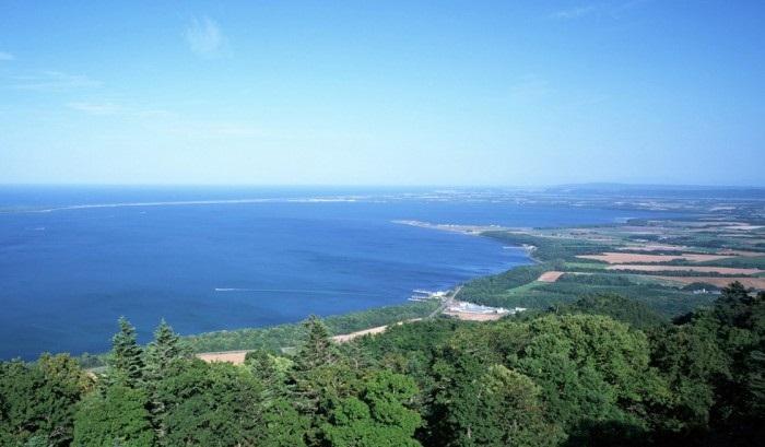 Побережье острова Хоккайдо