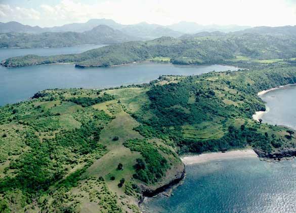 Остров Лусон с высоты птичьего полета