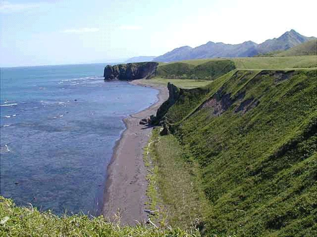 Побережье острова Сахалин