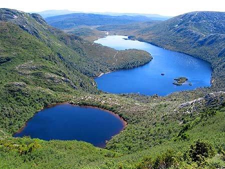 Озера на острове Тасмания